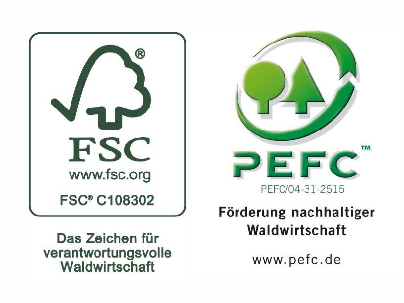 FSC-PEFC-Nachhaltigkeit